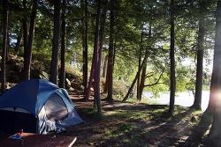 [미국캠핑 #2/4] 미국 두번 째 캠핑 - 천 섬 Wellesley Island State Park 캠핑장