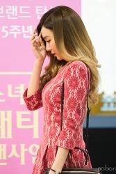 151127 롯데백화점 부산본점 루이까또즈 태티서 팬사인회