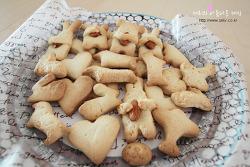 오븐으로 버터 쿠키 만들기