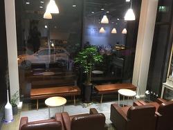 청주카페추천 리프레쉬커피에서 라떼와 초콜렛바게트!