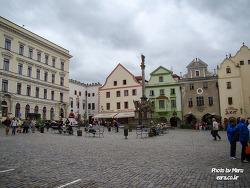 [체코#17] 체스키 크룸로프의 중앙광장과 성당