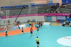 핸드볼 경기장  여자   2014 인천아시안게임 Asian Games Incheon 2014