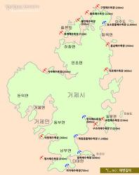 올 여름 휴가는 거제해수욕장으로 GoGo!