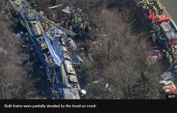 로젠하임(Rosenheim )과 홀츠키르헨( Holzkirchen) 사이에서 발생한 기차 정면 충돌