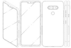 LG - 전면에 트리플 카메라를 채용한 스마트폰 특허 출원