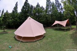 Bell 텐트 설치