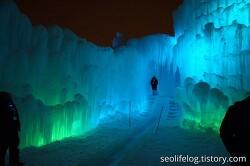 캐나다 에드먼턴 아이스캐슬 / Edmonton Ice Castles