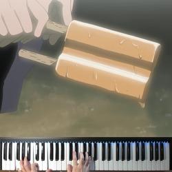 【조용피아노】 나루토 Naruto OST Yamagasumi (高梨康治) Piano 피아노 : 지라이야의 죽음 -이루카의 쌍쌍바 Jiraiya's Death 2/2