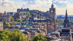 스코틀랜드, 에든버러(에딘버러)  Edinburgh 1일 여행 경비 계산, 날씨[유럽 배낭여행 비용]