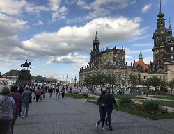 고대와 현대가 공존하는 매력적인 도시, 드레스덴 여행기