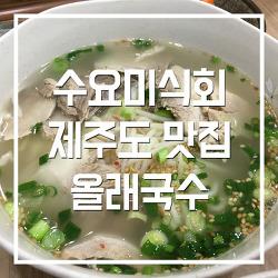 [제주공항근처맛집]수요미식회 올래국수