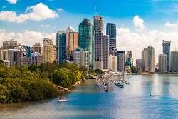 브리즈번 Brisbane 1일 여행 경비 계산, 날씨[호주 배낭여행 비용]