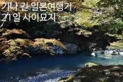 기나 긴 일본답사기 - 22일 교토 산비3 (사이묘지西明寺)