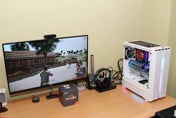 조이젠 AMD 조립 컴퓨터 라이젠 2700X RX590 블랙에디션 화이트에디션