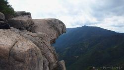 수리봉 소바위듬 선바위 작은가야산의 명품 기암들
