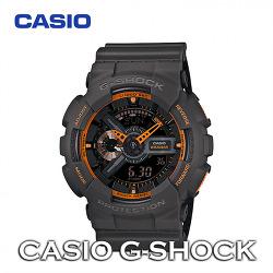 카시오 지샥 빅페이스 네온 오렌지 | G-SHOCK GA-110TS-1A4DR