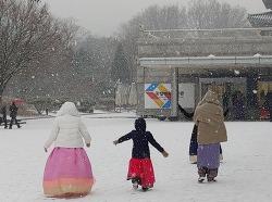 눈오는 국립민속박물관-아카이브
