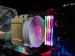 게일램 DDR4 메모리 GeIL DDR4 16GB PC-25600 CL14 SUPER LUCE RGB Sync