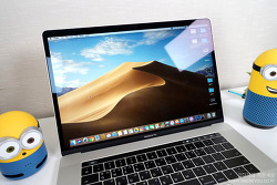 쉽게 보는 애플 맥북프로 맥OS 모하비 업데이트 내용! - 스택, 다크모드, 다이내믹 배경화면, 연속성 카메라 등