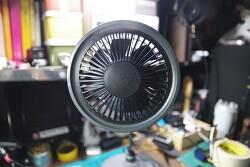 [DIY] 이마트에서 산 성능은 꽝이고 이쁘기만 한 도시샤 데스크 스탠드 팬, USB 선풍기(mood desk stand fan, fmds-101)를 충전식으로 개조!?