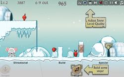 직접 발판이 되는 불쌍한 두뇌게임 Dibbles 2: Winter Woes