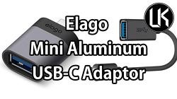 [Review] 작고 귀여운 USB-C 어댑터, Elago Mini Aluminum USB-C Adaptor
