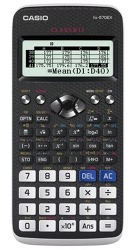 fx-570EX 1변수 통계모드 사용하기