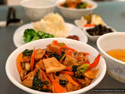 정성듬뿍 건강요리 버섯야채덮밥 레시피