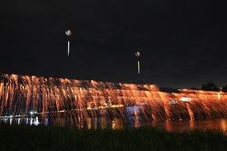 제22회무주 반딧불축제 낙화놀이와 풍등날리기
