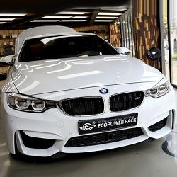 BMW M4 컨버터블 블랙박스보조배터리 와 퀀텀2 블랙박스