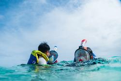 사이판 여행 스케치 - 마나가하섬 스노클링 그리고 패러세일링 액티비티 옵션