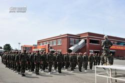 신병 1244기 5교육대 1주차 - 군사기초훈련