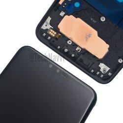 LG - V40 ThinQ 전면 디스플레이 패널 및 강화유리 유출