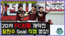 [Goals] 황현수 2골 직캠 - 2019 K리그1 개막전 <FC서울 vs 포항 스틸러스>