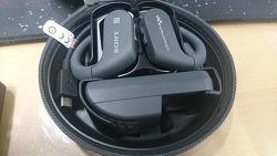 [IT] 얼떨결에 세탁기로 방수기능 테스트한 SONY NW-WS623 스포츠 이어폰