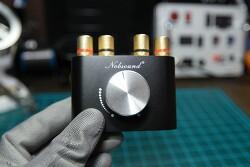 구형 패시브 스피커를 블루투스 스피커로 만들기 - 50W 앰프와 USB DAC을 내장한 미니 블루투스 리시버 노브사운드 NG-01G Pro