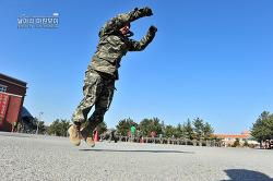 신병 1242기 5교육대 2주차 - 전투체력