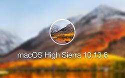 애플, macOS 하이 시에라 10.13.6 업데이트 배포