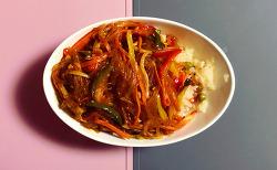 [혼밥 마스터의 길] 잡채밥