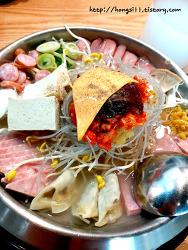 [광양맛집]돈가스&피자주는 쉐프의 부대찌개