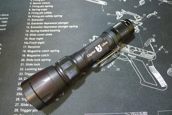 Surefire U2 Ultra 18mm battery acceptable body version