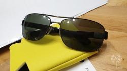 레이벤 RB3522 선글라스 호환렌즈 직구 구매 후기 FUSE 렌즈