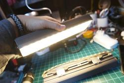 [DIY] 몬스터 충전식 캠핑등 만들기 - 3구 LED 5030 + 18650 3s3p + 카페발 하우징