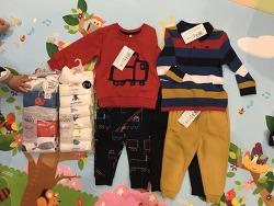 영국에서 10만원어치 아이 옷을 구입하다