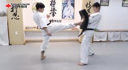 [극진가라데]실전에 강한 발차기 - 앞차기(Front Kick) [극진가라데/kyokushin karate]