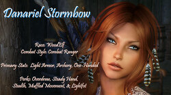 Danariel Stormbow Follower with Body Changer