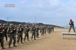 신병 1242기 5교육대 3주차 - 전투사격