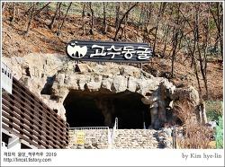 [적묘의 충북]단양,고수동굴,천연기념물 제256호, 4억 5천만년 동안 생성되고 있는 석회암 자연동굴