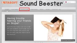 Letasoft Sound Booster 프로그램 사용해보기