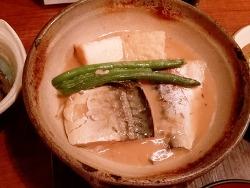 사바미소 정식 (고등어 된장 조림) -일본 직장인의 점심